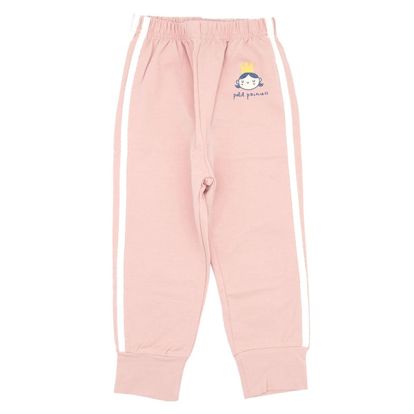 Princess Stripe Jogger - Pink - Merry BooBoo
