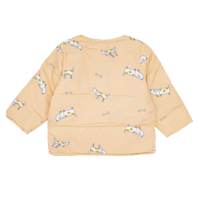 Puppy Print Shell Down Jacket - Merry BooBoo