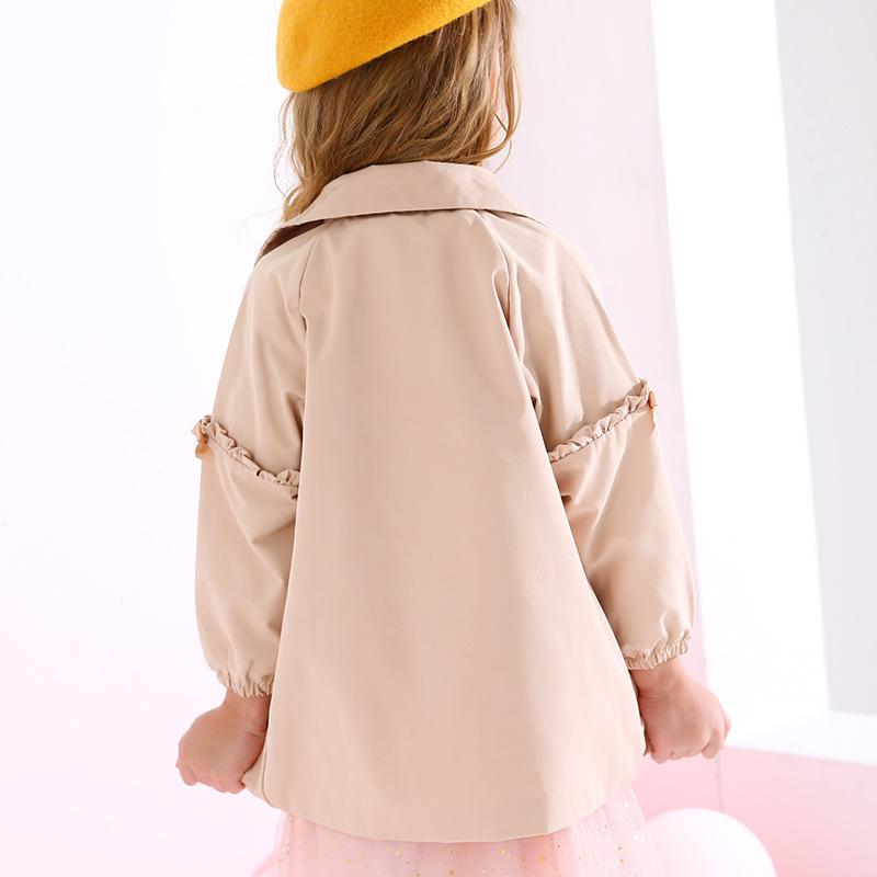 Ruffled Trench Coat - Merry BooBoo