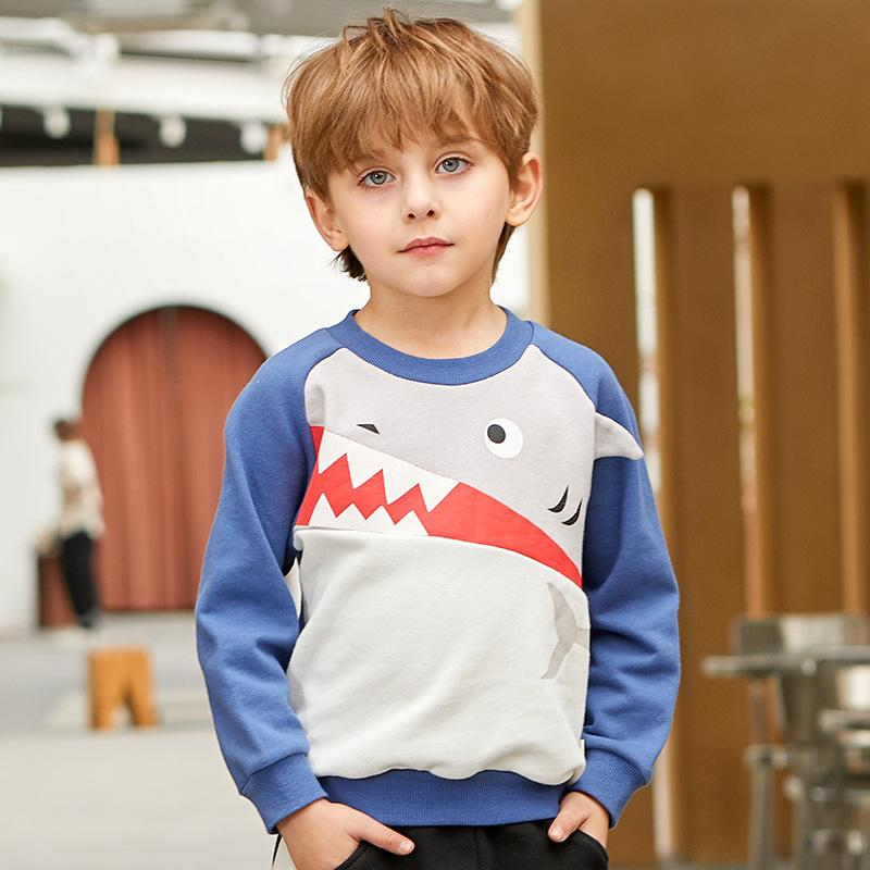 Shark Pullover Sweatshirt - Blue - Merry BooBoo