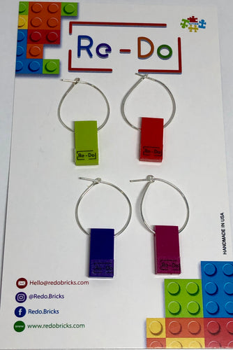 Décor Flat Lego Wine Glass Markers