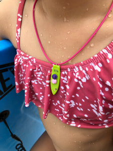 Surfboard Fun Necklace