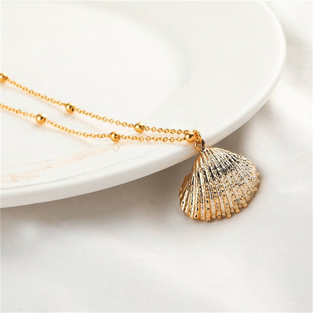 Seaside Necklace Gold