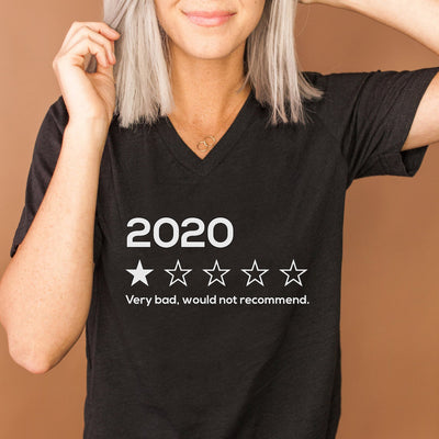 2020 1-Star Review V-Neck Tee