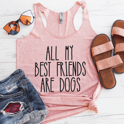 All My Best Friends Are Dogs Eco Tank