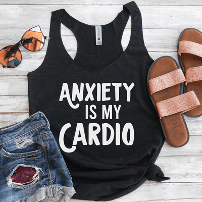 Anxiety Is My Cardio Eco Tank Top
