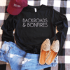 Backroads And Bonfires Long Sleeve Shirt