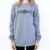 Coffee Ekg Sweatshirt