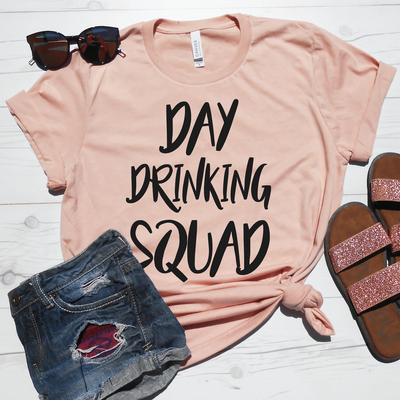 Day Drinking Squad Shirt