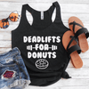Deadlifts For Donuts Eco Tank