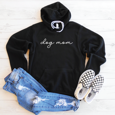 Dog Mom Fleece Lined Hoodie