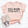 Dog Mom with Dog Names Shirt