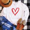 Double Heart Long Sleeve