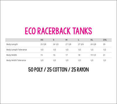 I'm Gonna Ride 'Till I Can't No More Eco Tank