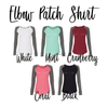 From The Window To The Wall Elbow Patch Shirt