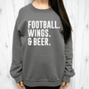 Football Wings & Beer Sweatshirt