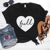 Full Heart V-Neck Tee