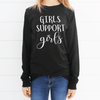 Girls Support Girls Long Sleeve Shirt