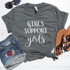 Girls Support Girls V-Neck Tee