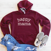 Happy Mama Fleece Lined Hoodie