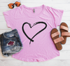 Heart Flowy Shirt