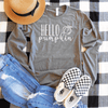 Hello Pumpkin Long Sleeve Shirt