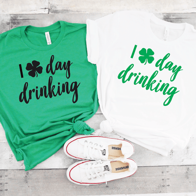 I Shamrock Day Drinking Shirt