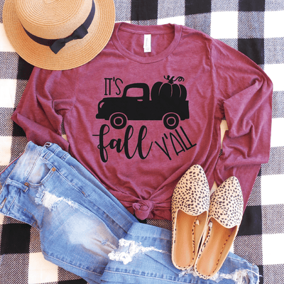It's Fall Y'all Long Sleeve Shirt