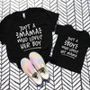 Just a Mama Who Loves Her Boy Shirt Set