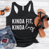 Kinda Fit Kinda Lazy Eco Tank Top