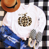 Leopard Pumpkin Long Sleeve Shirt