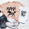 Mama Unicorn & Baby Unicorn Shirt Set