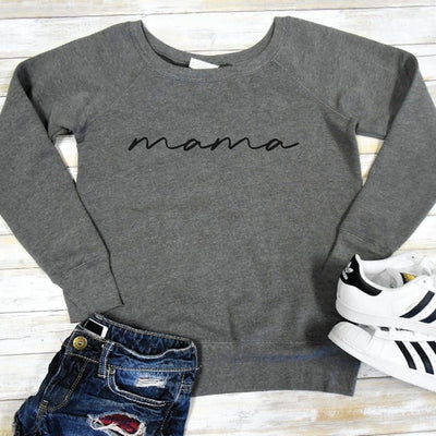 Mama Wide Neck Sweater