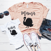 Mama Turkey and Baby Turkey Shirt Set