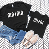 Mama & Mini Rockstar Shirt Set
