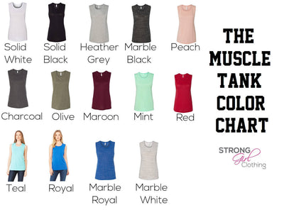 Classy With a Savage Side Muscle Tank