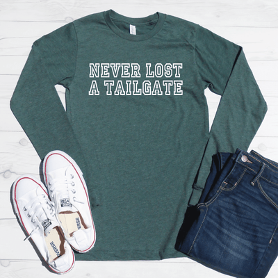 Never Lost A Tailgate Long Sleeve Shirt