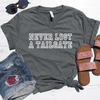 Never Lost A Tailgate V-Neck Tee