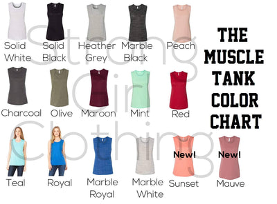She Designed A Life She Loved Muscle Tank