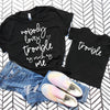 Nobody Loves Trouble Shirt Set