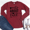 Nuts About Fall Long Sleeve Shirt
