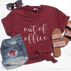 Out Of Office V-Neck Tee