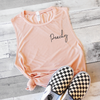 Peachy Muscle Tank