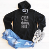 Run The Dang Ball Fleece Lined Hoodie