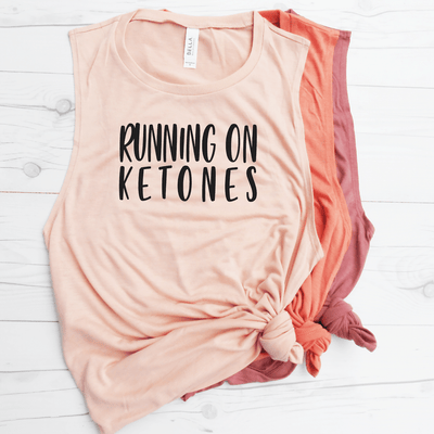 Running On Ketones Muscle Tank