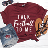 Talk Football To Me V-Neck Tee