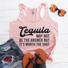 Tequila May Not Be The Answer But It's Worth The Shot Eco Tank Top