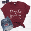 Thanks + Giving V-Neck Tee