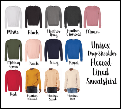 Fall Is My Favorite Drop Shoulder Sweatshirt