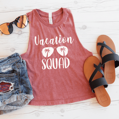 Vacation Squad Crop Top